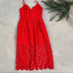 Astr The Label Lace Dress